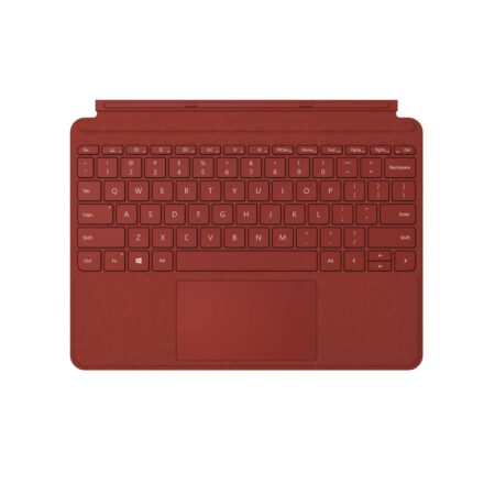 Microsoft Surface Go Type Cover - Poppy Red klaviatūra