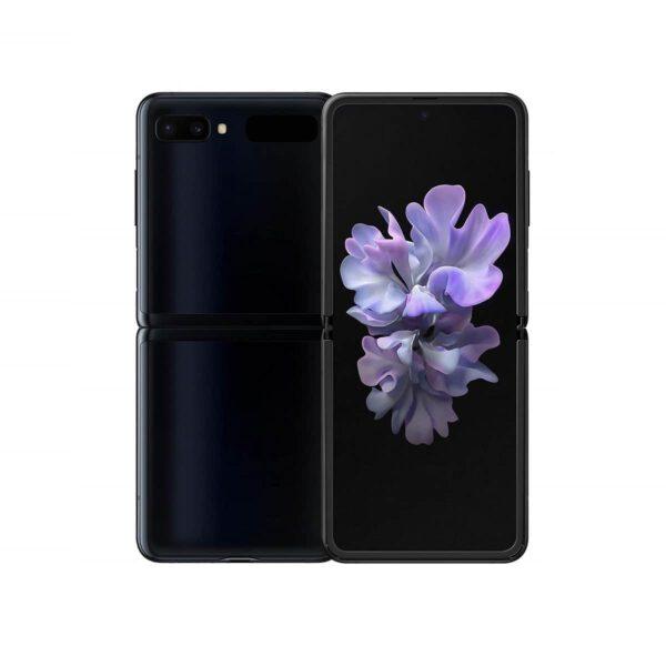 Samsung Galaxy Z Flip Veidrodinė juoda spalva