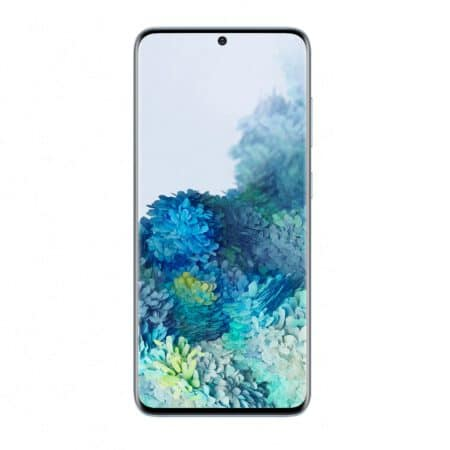 Samsung Galaxy S20 Padangių mėlyna spalva