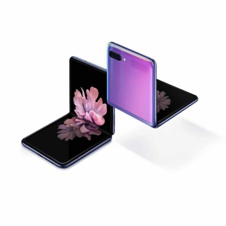 Samsung Galaxy Z Flip Veidrodinė rožinė spalva