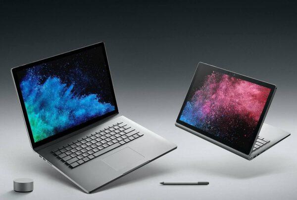 Microsoft Surface Book 2 konvertuojamas kompiuteris