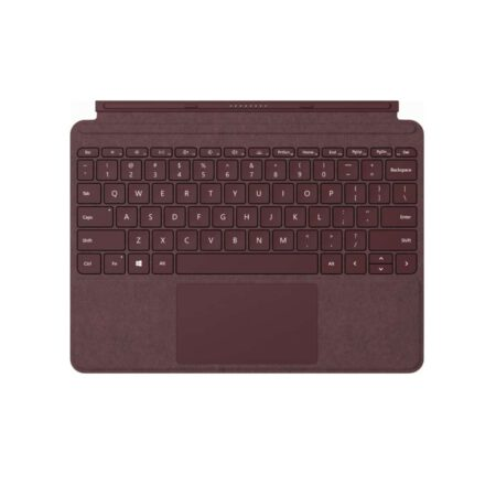 Microsoft Surface Go Signature Type Cover - Burgundy klaviatūra