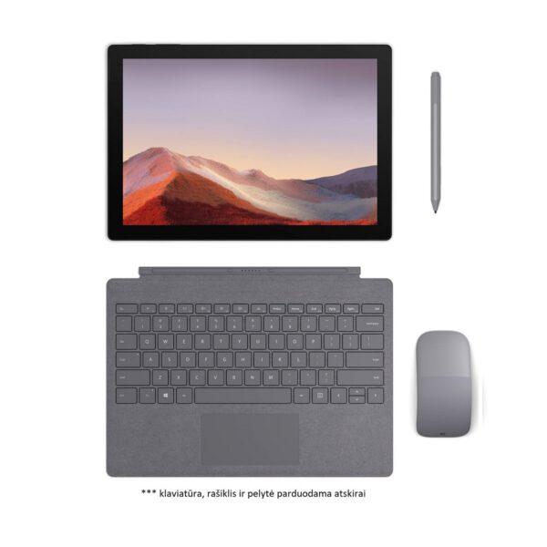 Microsoft Surface Pro 7 Matte Black spalvos kompiuteris