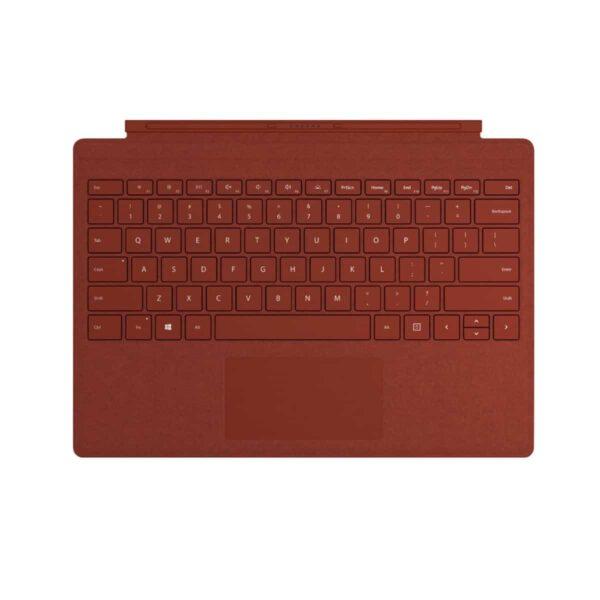 Microsoft Surface Pro Signature Type Cover - Poppy Red klaviatūra