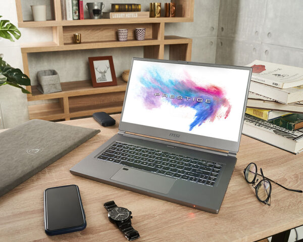 MSI P65 Creator 9SG-itin lengvas kompiuteris