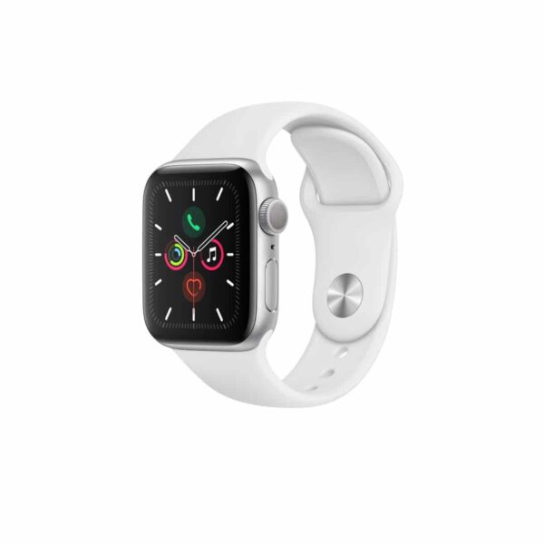 Apple Watch Series 5 (40mm, MWV62) Silver White išmanusis laikrodis
