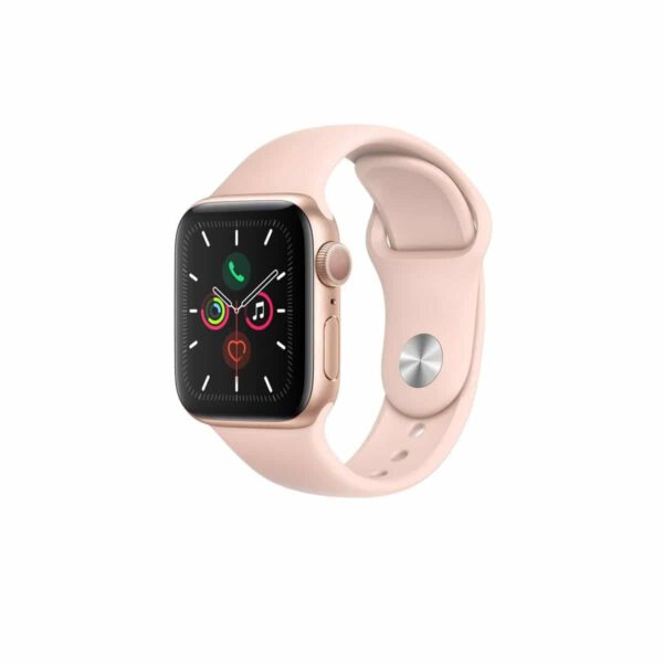 Apple Watch Series 5 (40mm, MWV72) Gold Pink išmanusis laikrodis