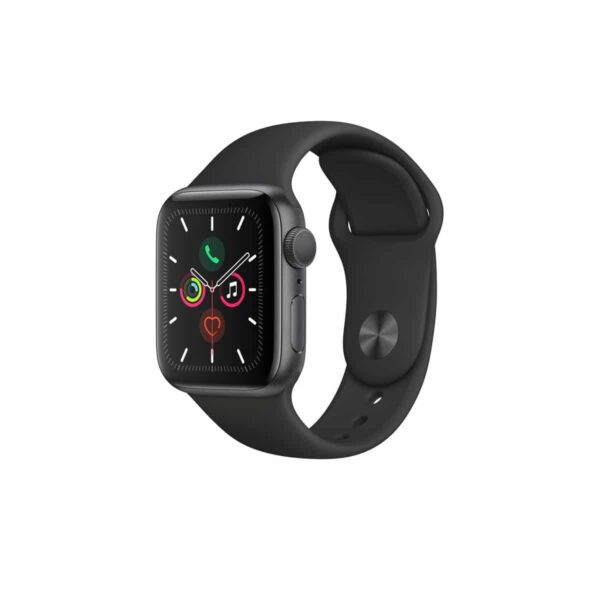 Apple Watch Series 5 (40mm, MWV82) Space Gray Black išmanusis laikrodis