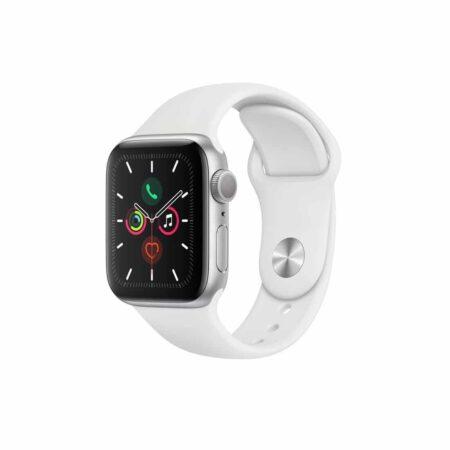Apple Watch Series 5 (44mm, MWVD2) Silver White išmanusis laikrodis