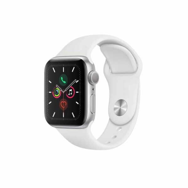 Apple Watch Series 5 (44mm, MWVD2) Silver White išmanusis laikrodis
