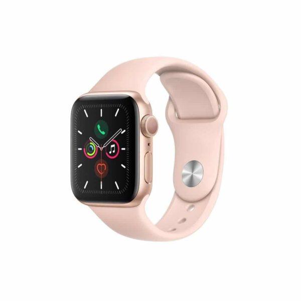 Apple Watch Series 5 (44mm, MWVE2) Gold Pink išmanusis laikrodis
