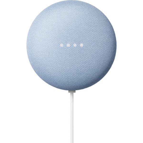 Google Nest Mini (Como Blue) išmanusis garsiakalbis ir namų asistentas