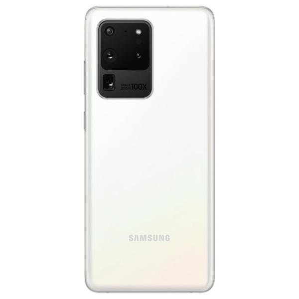 Samsung Galaxy S20 Ultra 5G (128GB) Padangių balta spalva