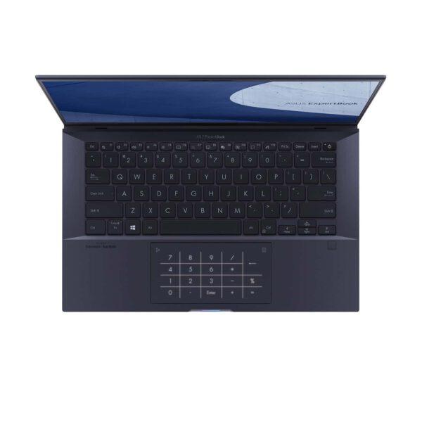 ASUS ExpertBook B9450FA Juoda žvaigžė spalva nešiojamasis kompiuteris