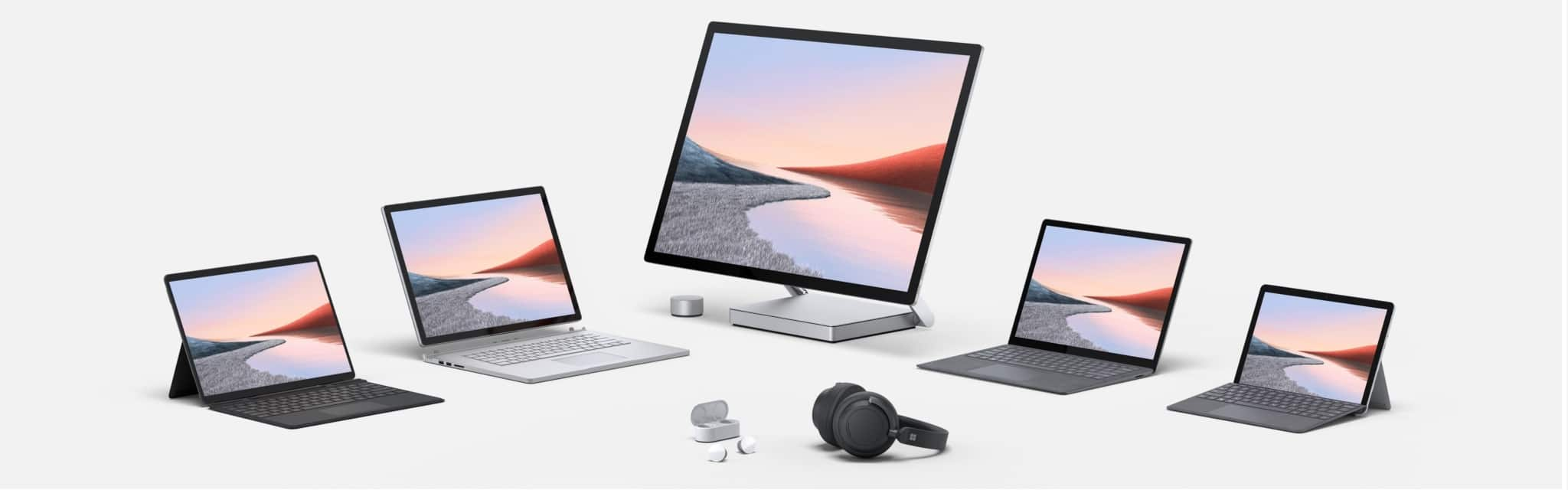 Egnetas.LT Microsoft 2020 Surface Family