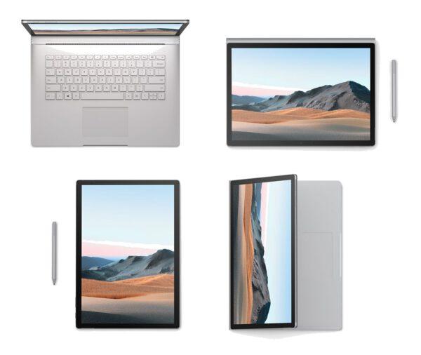 Microsoft Surface Book 3 2020 metų konvertuojamas kompiuteris