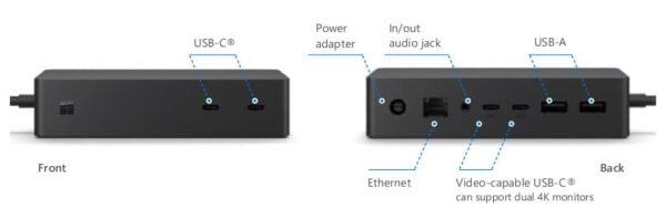 Microsoft Surface Dock 2 - jungiamasis įrenginys7