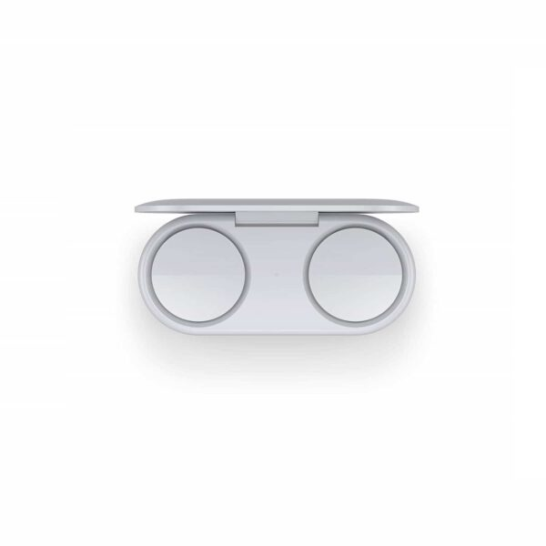 Microsoft Surface Earbuds (Glacier) belaidės ausinės dėžutė