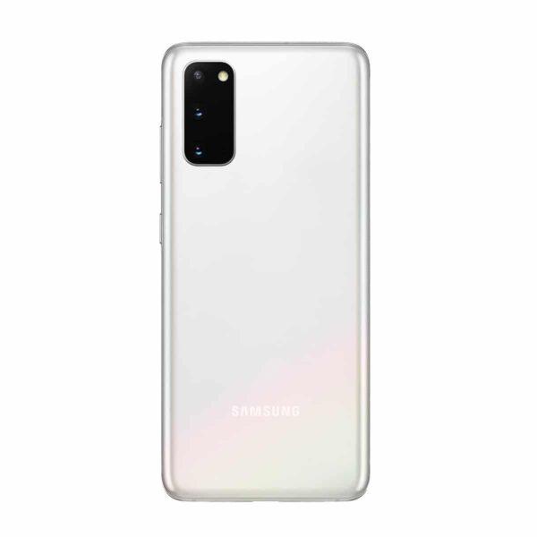 Samsung Galaxy S20 (128GB) Padangių balta spalva