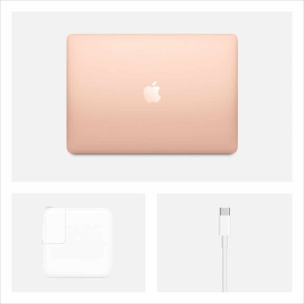 Apple MacBook Air 13 Scissor, 2020 Gold nešiojamas kompiuteris