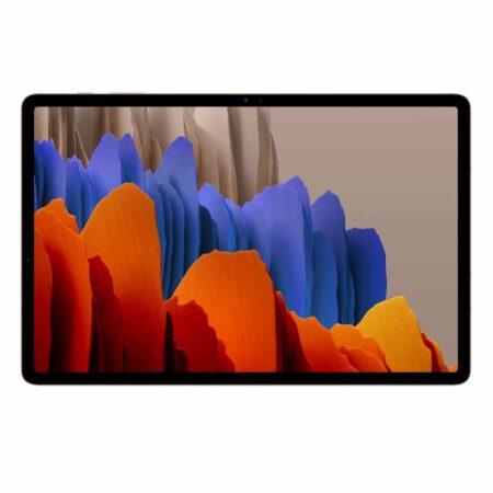 Samsung Galaxy Tab S7 plius 5G mistinė bronzinė spalva