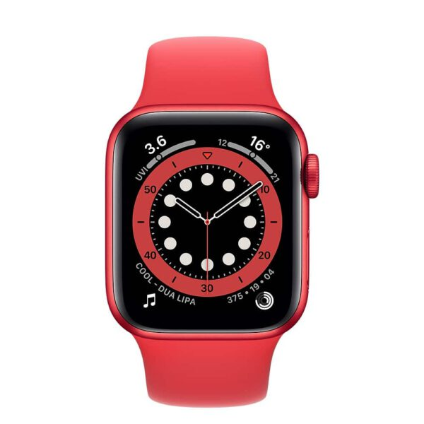 Apple Watch Series 6 40mm M00A3 Red Red išmanusis laikrodis
