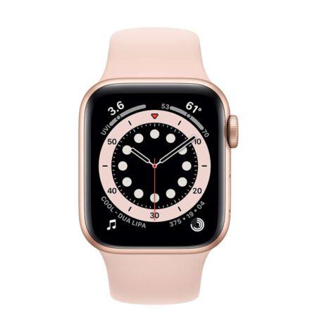 Apple Watch Series 6 40mm MG123 Gold Pink išmanusis laikrodis