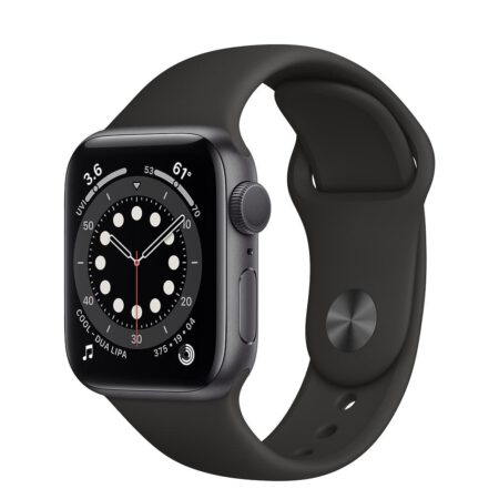 Apple Watch Series 6 40mm MG133 Space Gray Black išmanusis laikrodis