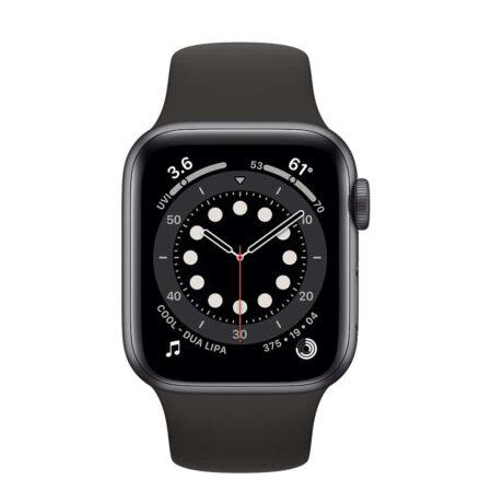 Apple Watch Series 6 40mm MG133 Space Gray Black išmanusis laikrodis
