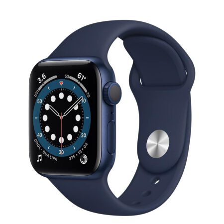 Apple Watch Series 6 40mm MG143 Blue Deep Navy išmanusis laikrodis