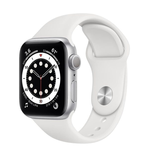 Apple Watch Series 6 40mm MG283 Silver White išmanusis laikrodis