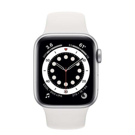 Apple Watch Series 6 40mm MG283 Silver White išmanusis laikrodis