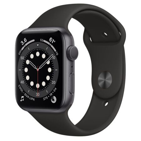 Apple Watch Series 6 44mm M00H3 Space Gray Black išmanusis laikrodis