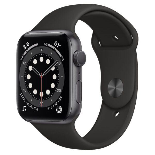 Apple Watch Series 6 44mm M00H3 Space Gray Black išmanusis laikrodis