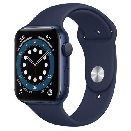 Apple Watch Series 6 44mm M00J3 Blue Deep Navy išmanusis laikrodis