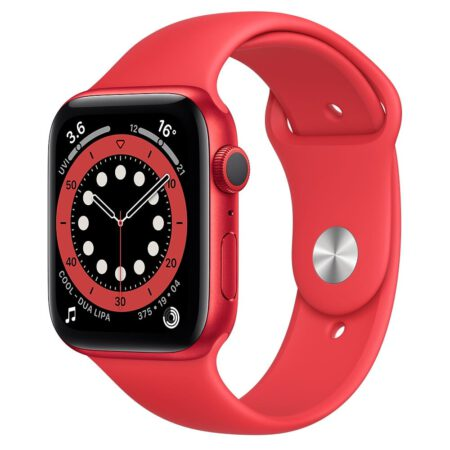 Apple Watch Series 6 44mm M00M3 RED RED išmanusis laikrodis