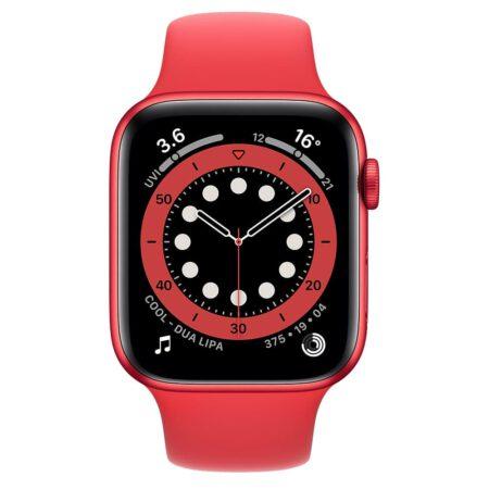 Apple Watch Series 6 44mm M00M3 RED RED išmanusis laikrodis