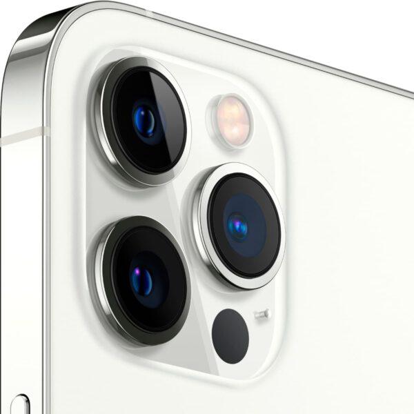 Apple iPhone 12 Pro MAX sidabrine spalva išmanusis telefonas dizainas