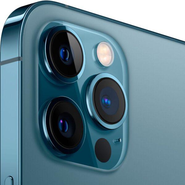 Apple iPhone 12 Pro MAX vandenyno spalva išmanusis telefonas dizainas