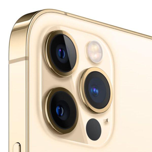 Apple iPhone 12 Pro auksinė spalva išmanusis telefonas dizainas