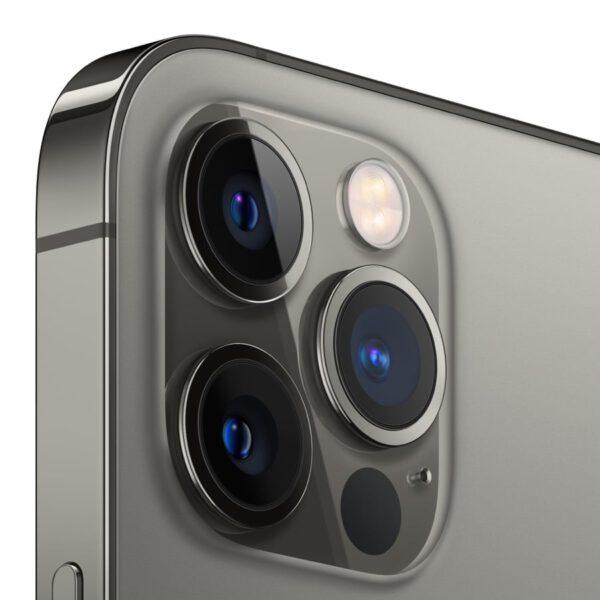 Apple iPhone 12 Pro grafito spalva išmanusis telefonas dizainas