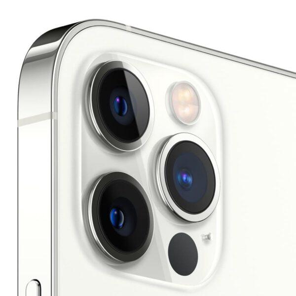 Apple iPhone 12 Pro sidabrine spalva išmanusis telefonas dizainas