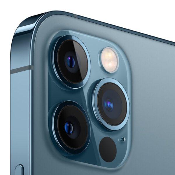 Apple iPhone 12 Pro vandenyno spalva išmanusis telefonas dizainas