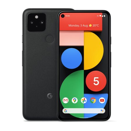 Google Pixel 5 (128GB, Just Black) išmanusis telefonas