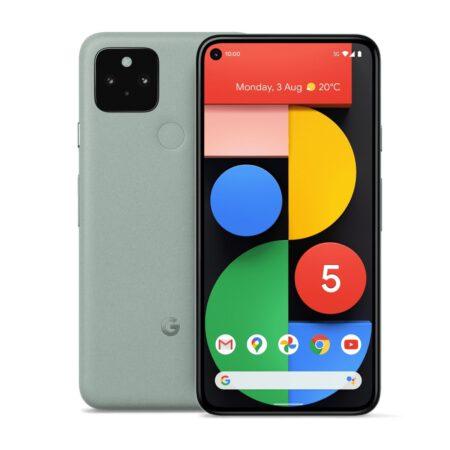 Google Pixel 5 (128GB, Sorta Sage) išmanusis telefonas