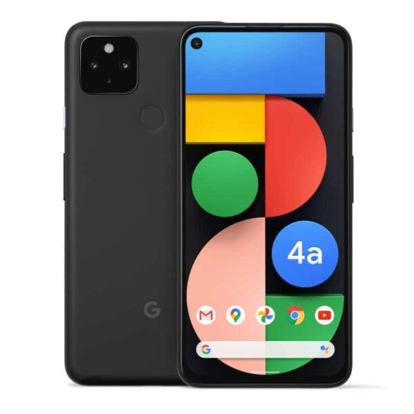 Google Pixel 4a 5G (128GB, Just Black) išmanusis telefonas