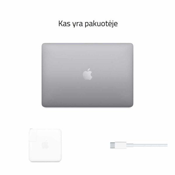 Apple MacBook Pro 13 M1 2020 Space Gray nešiojamas kompiuteris