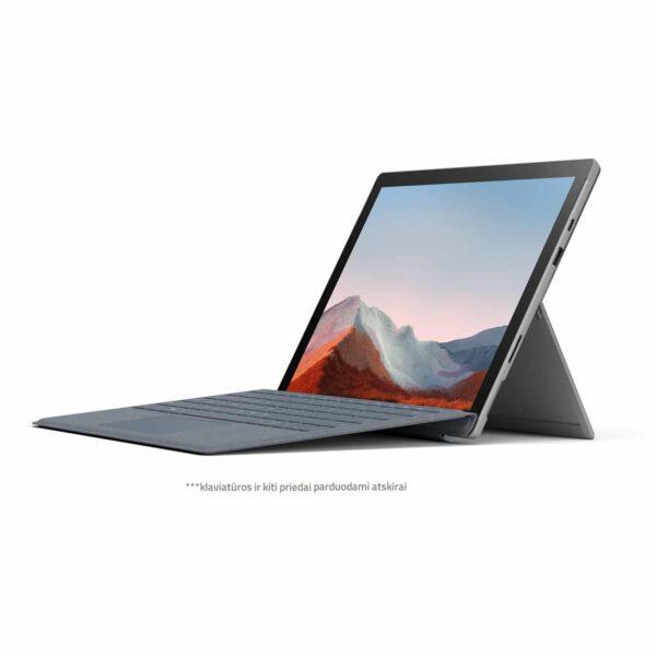 Microsoft Surface Pro 7+ platinum komercinis kompiuteris