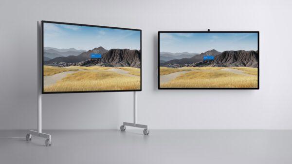 Microsoft Surface Hub 2S (85 colių ekranas) bendradarbiavimo įrenginys Egnetas UAB