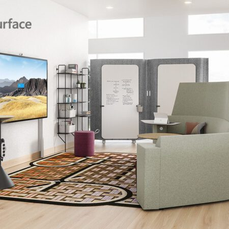 Microsoft Surface Hub 2S (85 colių ekranas) bendradarbiavimo įrenginys Egnetas.LT